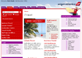 Final Design Virgin Atlantic section page