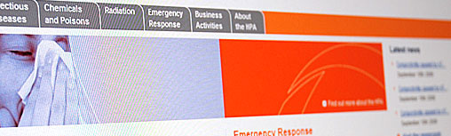 Health Protection Agency Website